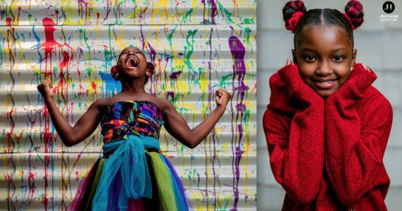 Photographer Puts On Professional Photo Shoot for Young Girl Who Was Denied School Pictures