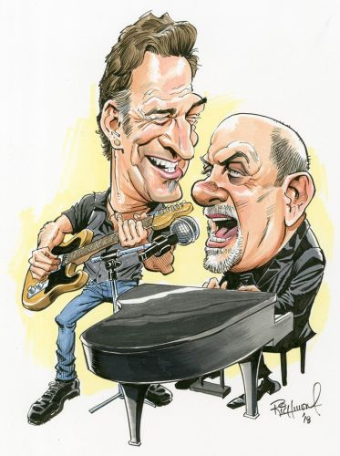 Sketch o'the Week- The Boss and Billy!