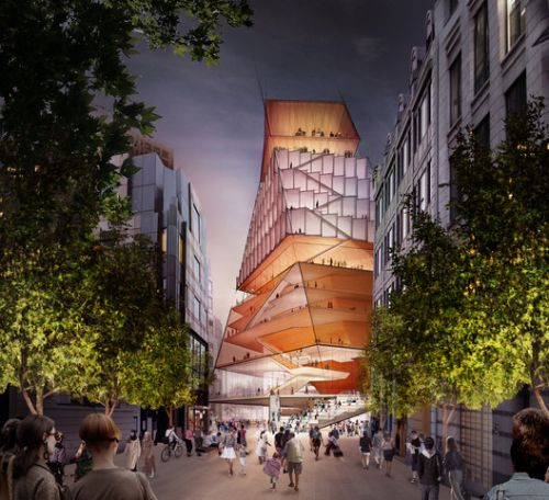 Diller Scofidio + Renfro Reveal New City of London Concert Hall