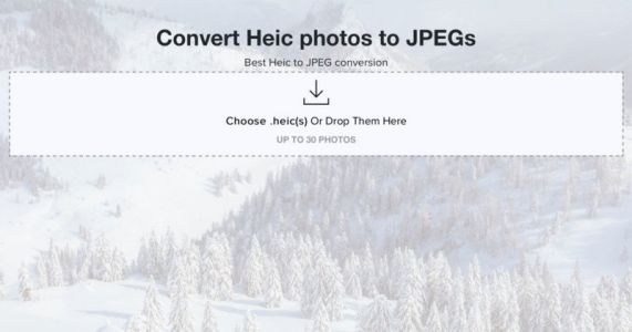 Here's a Handy New Site That Converts iOS 11 .heic Photos to JPEG