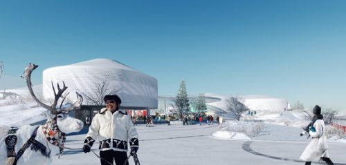 Atrium Architects Design New Learning Commons for World's Largest Permafrost City