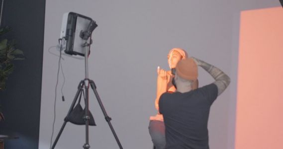 Exquisite Geometry: A Wacom and Projector Photo Shoot