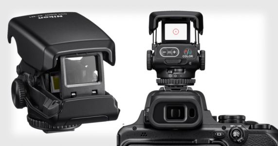Nikon Unveils the DF-M1, a Dot Sight for Super-Telephoto Tracking