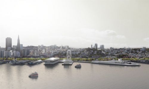 HASSELL Envisions a Restorative Redesign For San Francisco's Crumbling Waterfront