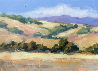 """GOLDEN FOOTHILLS"" by TOM BROWN"