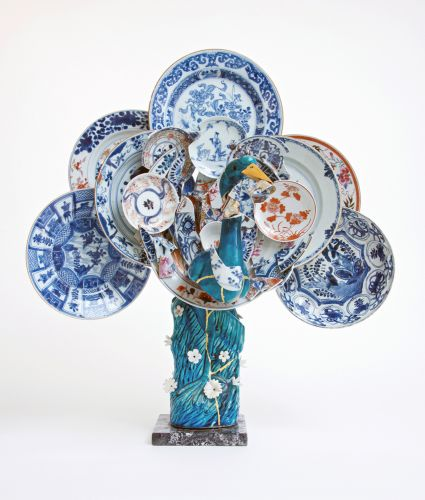 Discarded Ceramic Shards Are Celebrated in Multi-Part Assemblages by Conservator and Artist Bouke de Vries
