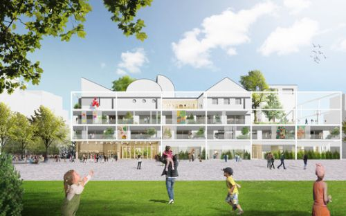 Office Ou Designs First Urban Public School in Central Prague in Nearly 100 Years