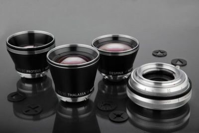 Lomography Unveils the Neptune, A Modular Art Lens System