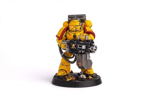 Showcase: Imperial Fists Space Marine Heroes Brother Toriad