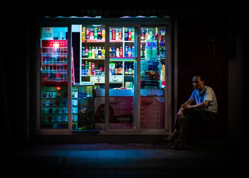 Nightshift: An Illuminated Glimpse Into Shanghai's Late Night Shops and Stalls