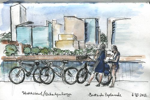May 2021 SketchCrawl - Eastside Esplanade, Saturday, May 15, 2021