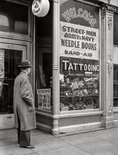 Tattooing & Curios: 1941