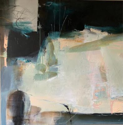 """Contemporary Art, Abstract Painting,""""ENCHANTED OPPORTUNITIES"""