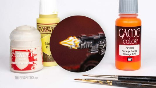 Tutorial: How to paint a cinematic muzzle-flash effect