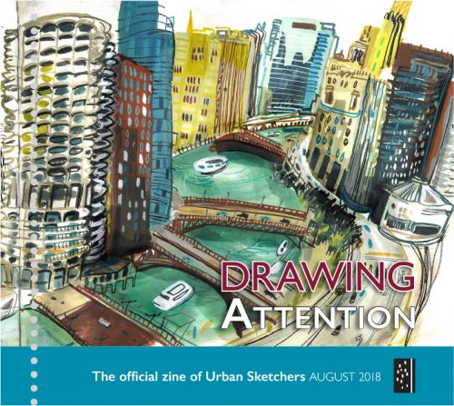 Drawing Attention August 2018
