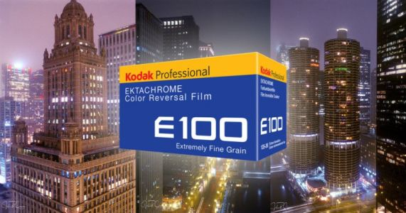 Shooting the New Kodak Ektachrome 100 in the City at Night