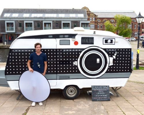 I Turned a Camper Into a Giant Camera and Portable Darkroom
