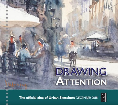 Drawing Attention December 2018
