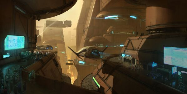 Concept ships by Wesley Griffith