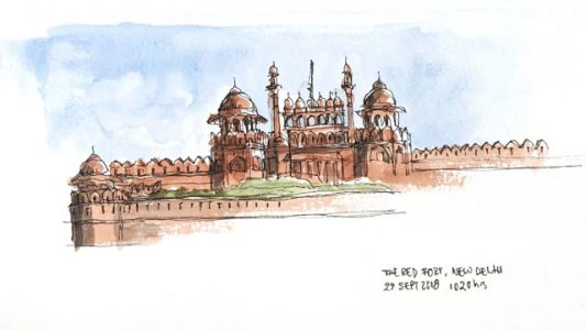 Architecture Wonders in Delhi and Agra