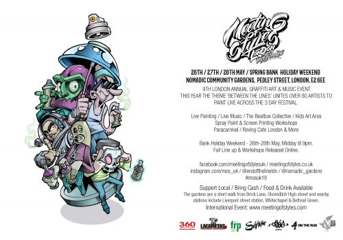 Meeting of Styles '18 Bank Holiday Weekend Festival London