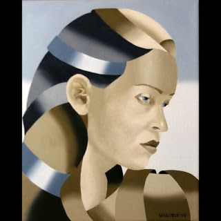 Mark Webster - The Bronze Age Abstract Oil Painting Series 4