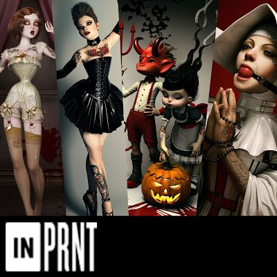 "NEW PRINTS ON ""INPRNT"""
