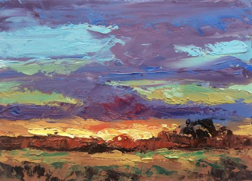 SUNSET by TOM BROWN