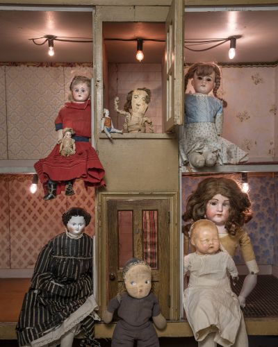 They're Baaaack: Meet the Creepy Dolls from the History Center of Olmsted County Collection