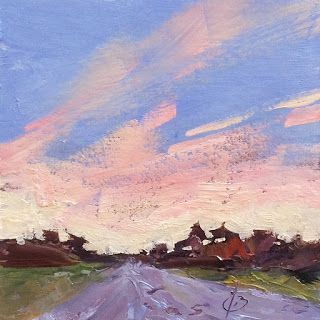 ROAD, SKY by TOM BROWN