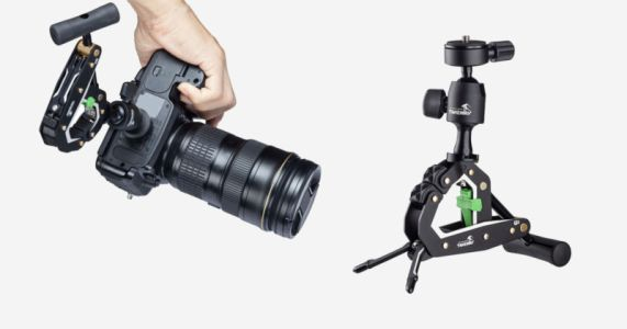 The T2 Clampod Can Firmly Attach Your Camera to a Variety of Surfaces