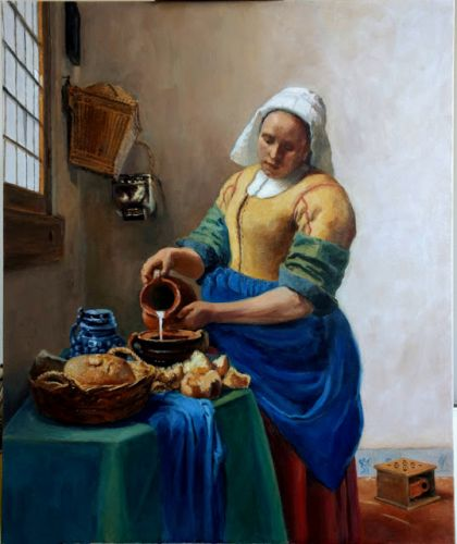 Vermeer and Duchamp
