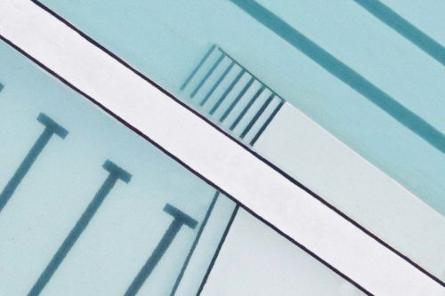 Minimalist Photos of Swimming Pools from Above