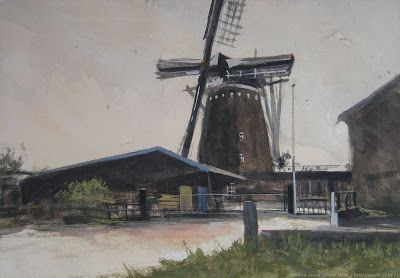 Wennink molen. Lintelo,The Netherlands