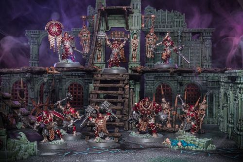 Showcase: Iron Golems Warband from Warcry