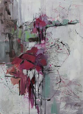 Abstract Landscape, Contemporary Oil Painting