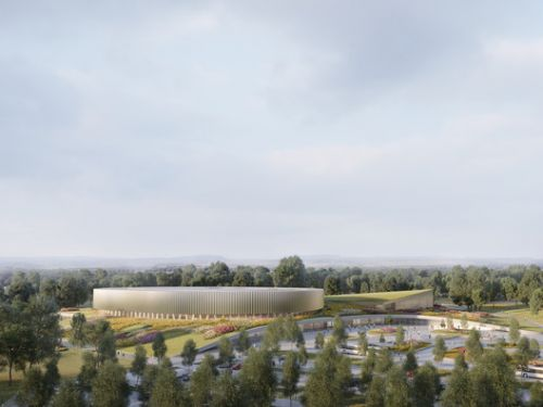 Mecanoo and Metaform Win Mondorf-les-Bains Velodrome and Sports Complex