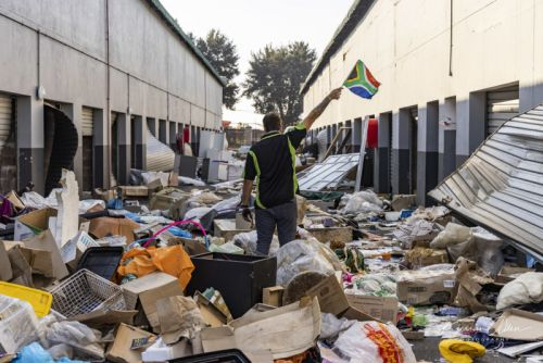 South African Photographer Captures Political Crisis at Home