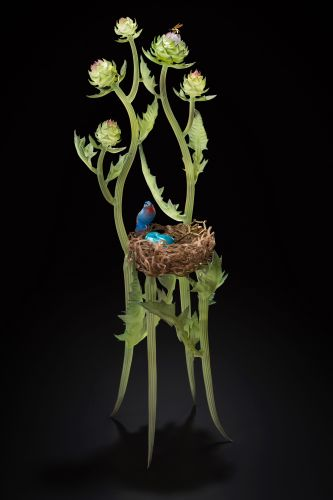 Incredibly Intricate Glasswork by Janis Miltenberger is Inspired by Mythology