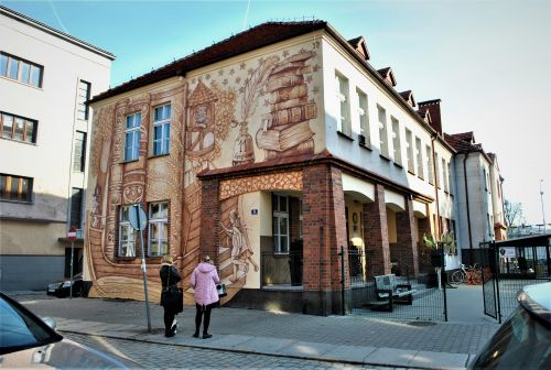 """BOOK ADWENTURES"" by Wow Wall Studio in Srem, Poland"