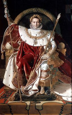 Jean-Auguste-Dominique Ingres . Today's birthday guy. The man who invented neoclassical painting