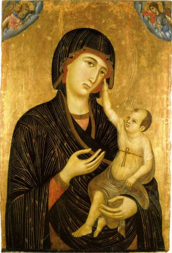 Madonnas attributed to Duccio di Buoninsegna c 1255-1319