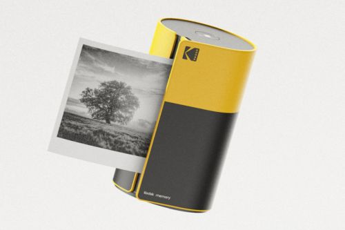 This 'Kodak Memory' Concept Printer Pays Homage to the 35mm Film Roll
