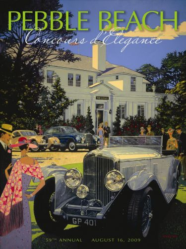 Barry Rowe Automobile Paintings