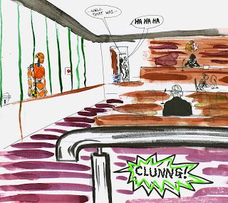 Noises on and off: in the magistrates' court