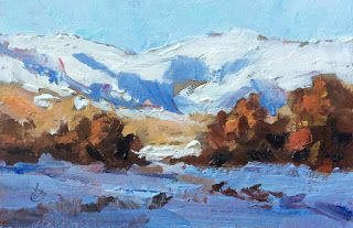 SNOWY MOUNTAINS by TOM BROWN