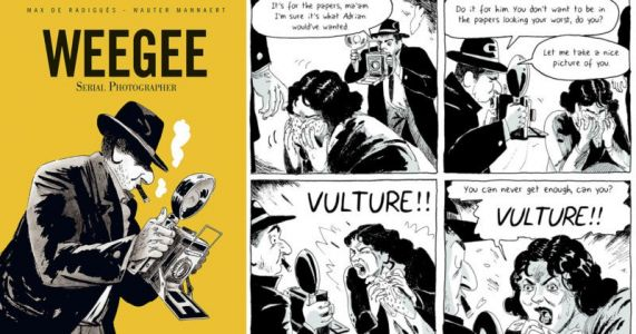 This Graphic Novel is About the Crime Photographer Weegee