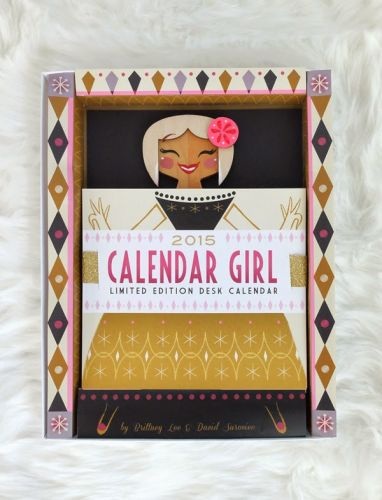Calendar Girl Schedule - Here We Go!
