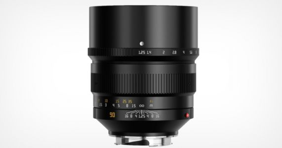 TTArtisan Launches 90mm f/1.25 Lens for Leica M-Mount