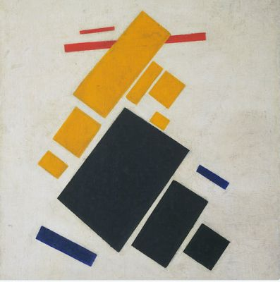 Kazimir Malevich born this day in 1878
